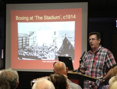 WWI Centenary of ANZAC talks presented by Dr Matthew Stephen
