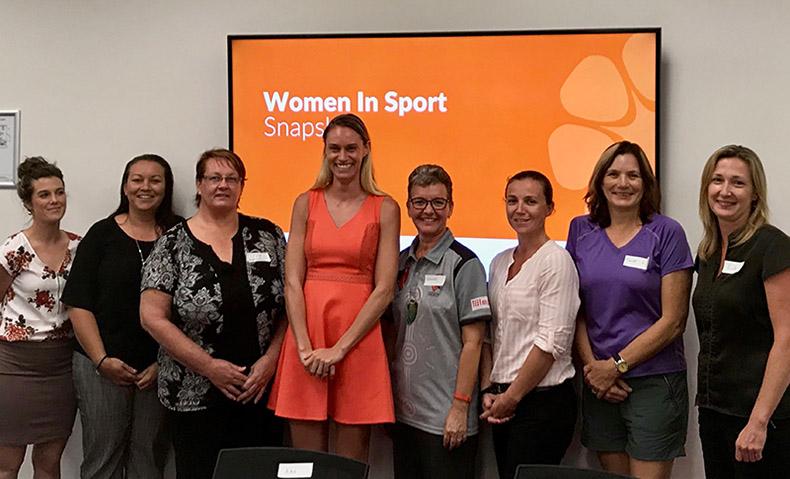 Women in Sport Advisory Committee group photo