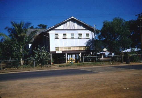 Oldest Block at Darwin School, 1957