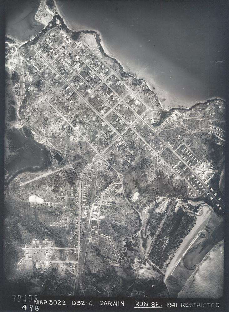 Darwin CBD, 1941. Accession 2015/37, Film MAP3022, Frame 39498
