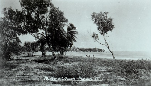 Mindil Beach Darwin post-war (pre-war was planted with coconuts), c1940s,